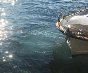 boat, go, and sad image