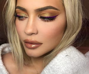 fashion, lips, and kylie jenner hair image