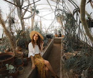 beauty, cactus, and girl image