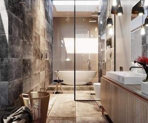 bathroom, funny, and cute image
