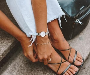 accessories, look, and jeans image