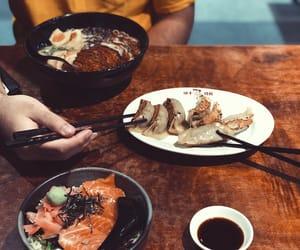 dumpling, food, and jap image