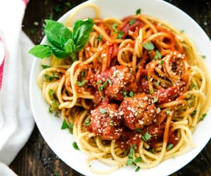dinner, pasta, and food image