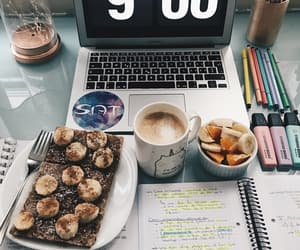 breakfast, healthy, and learning image