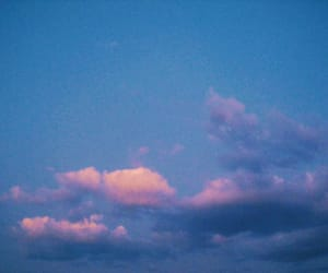 aesthetic, clouds, and blue image