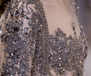 beading, diamonds, and fashion image