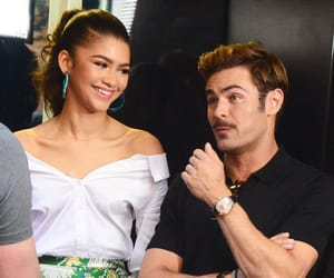 zac efron and zendaya image