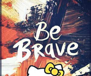 be brave, iphone, and phone image