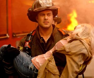 chicago fire, eyecandy, and one chicago image