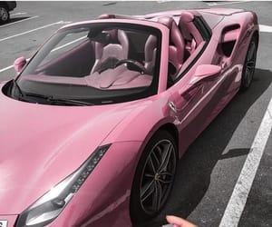 car, luxury, and pink image