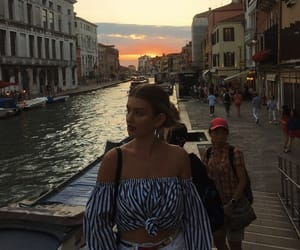 beach, italy, and outfits image