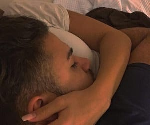 couple, cuddle, and romance image