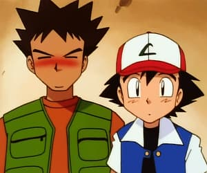 anime, ash, and Brock image
