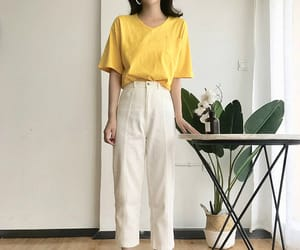asian fashion, casual, and clothing image