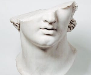 art, face, and greek image