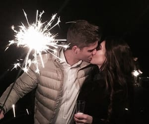 boyfriend, couple, and kissing image