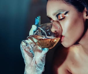 art, cool, and drinks image