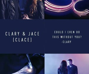 clace, claryfairchild, and jaceherondale image