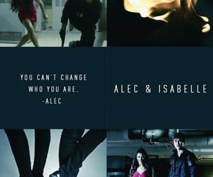 aleclightwood, izzylightwood, and shadowhunters image