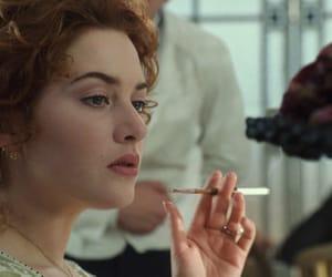 girl, smoking, and movie image