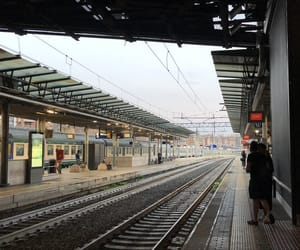 aesthetic, station, and vintage image