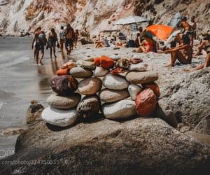 beach, Greece, and photo image