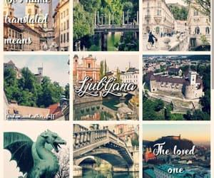 aesthetic, city, and ljubljana image