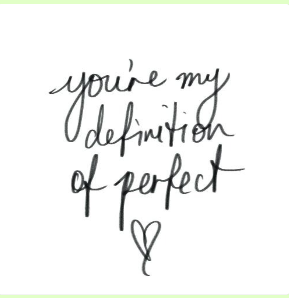You are perfect to me on We Heart It
