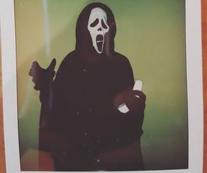 Halloween, polaroid, and twitter image