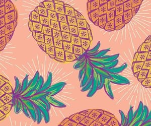 pineapple, ‎piña‬ ‪, and wallpaper image