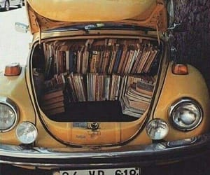 books, literature, and volkswagen image