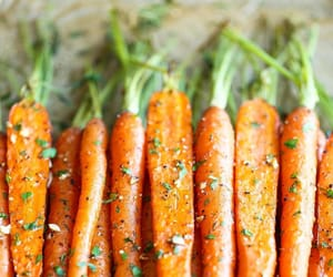 carrot, food, and flavored image