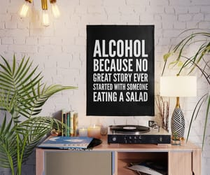 quotes, alcohol, and dorm image