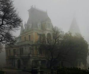 Darkness, grunge, and fog image