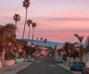 city, ciudad, and pink image