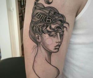 scorpio, tattoo, and zodiac image