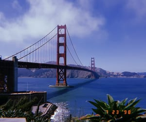 california, film, and golden gate bridge image