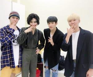 DK, kim junmyeon, and exo image