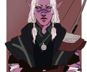 amulet, blue eyes, and boy image