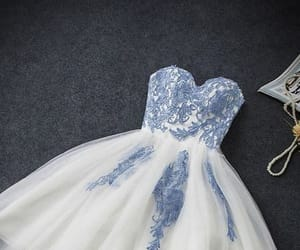 a-line homecoming dress, custom prom dresses, and lace prom dresses image