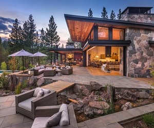 architecture, house, and awesome image