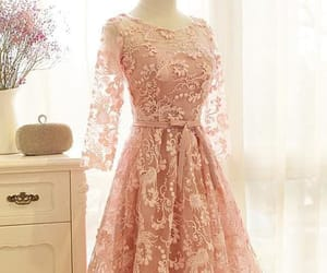 a-line homecoming dresses and long sleeves prom dress image
