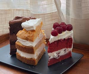 cakes, sweets, and delicious image