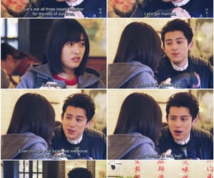 quote, shen yue, and meteor garden image