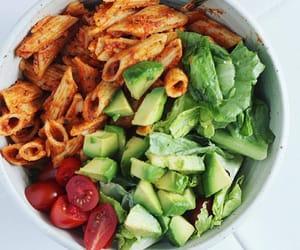 avocado, delicious, and pasta image