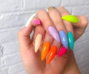 makeup+beauty, mode+moda+girl+wow, and nail+fake nails image