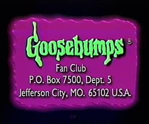 90s, gif, and goosebumps image