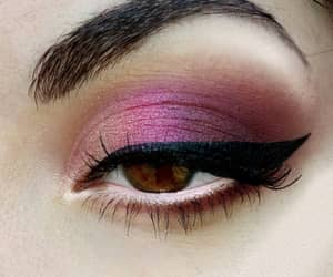 look, purple, and makeup image