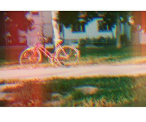 35mm, bycicle, and sun image