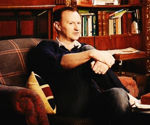gif, mark gatiss, and the man behind the genius image